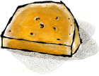 Mimolette Cheese from France