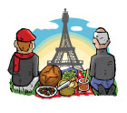 French Picnic Gift Box