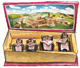 Gift Box of Four Balsamics