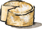 Cabot Clothbound Cheddar Cheese aged at Jasper Hill