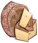Challerhocker Cheese from Switzerland
