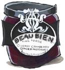 Beau Bien Cherry Cranberry Preserves