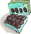 Chocolate Peppermint Creams