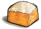 Sparkenhoe Red Leicester Cheese from Great Britain
