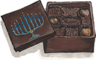 Chanukah Edible Box of Chocolates