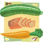 Veggie Confetti Sweet Bread