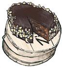 Chocolate Orange Torte