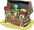Customizable Summer Sale 10 Pantry Staples Gift Crate