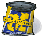 University of Michigan Peanuts