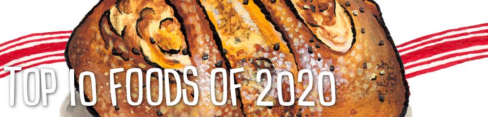 Top 10 New Foods of 2020